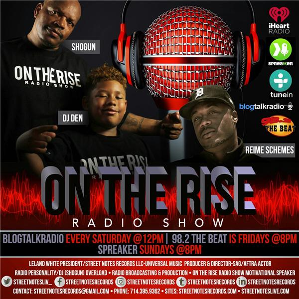 STREET NOTES LIVE*ON THE RISE