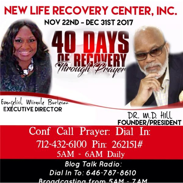 40 Days of Recovery through Prayer