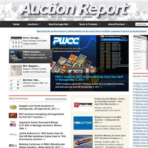 Auction Report