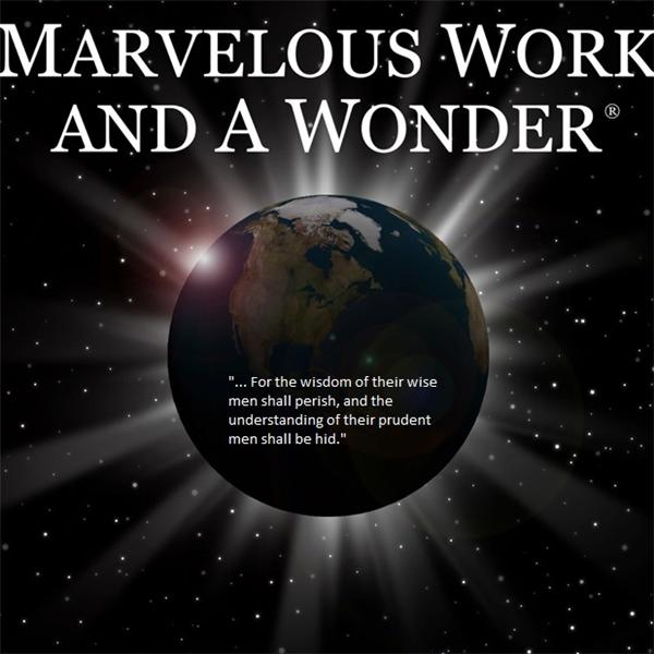 Marvelous Work and a Wonder0