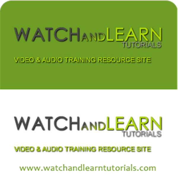 WatchandLearnTutorials