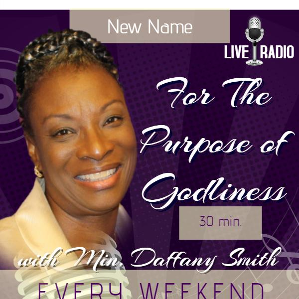 For the Purpose of Godliness