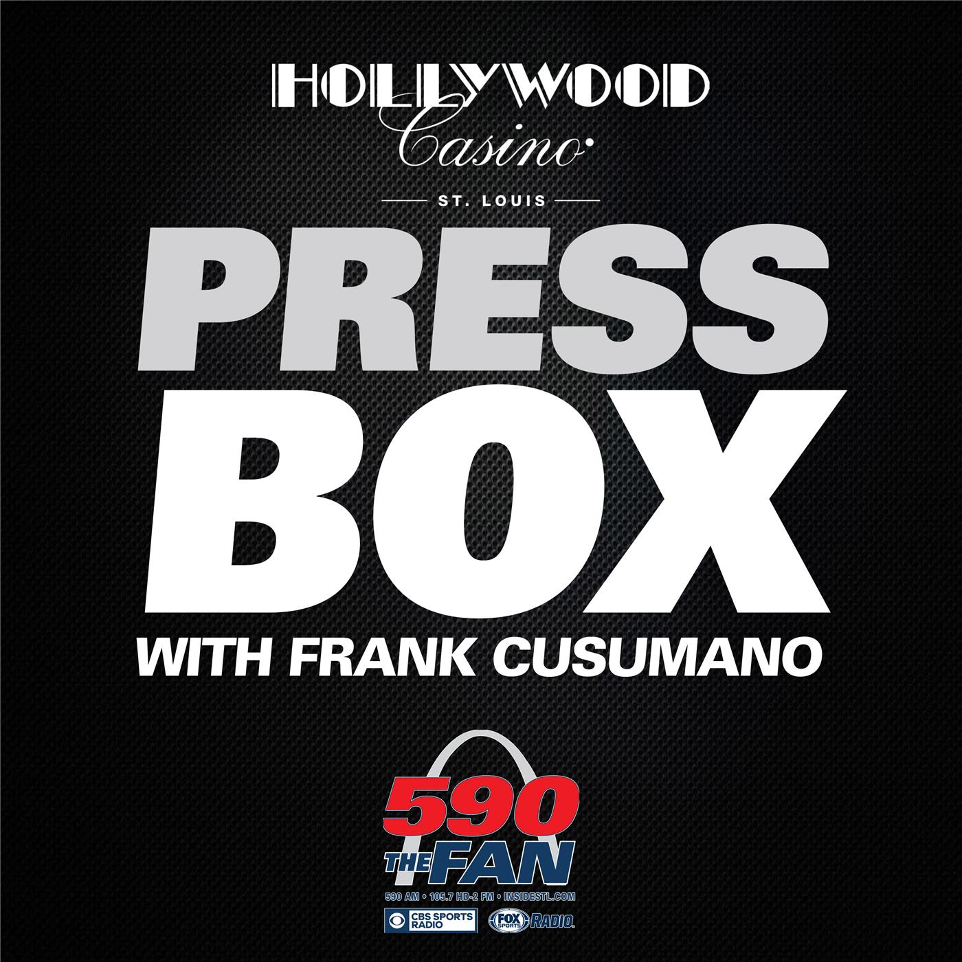 The Press Box with Frank Cusumano