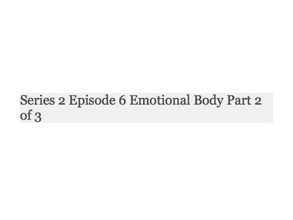 Redo of series 2 episode 6 emotional body part 2 of 3 0214 by redo of series 2 episode 6 emotional body part 2 of 3 malvernweather Image collections